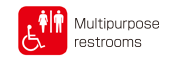 Multipurpose restrooms
